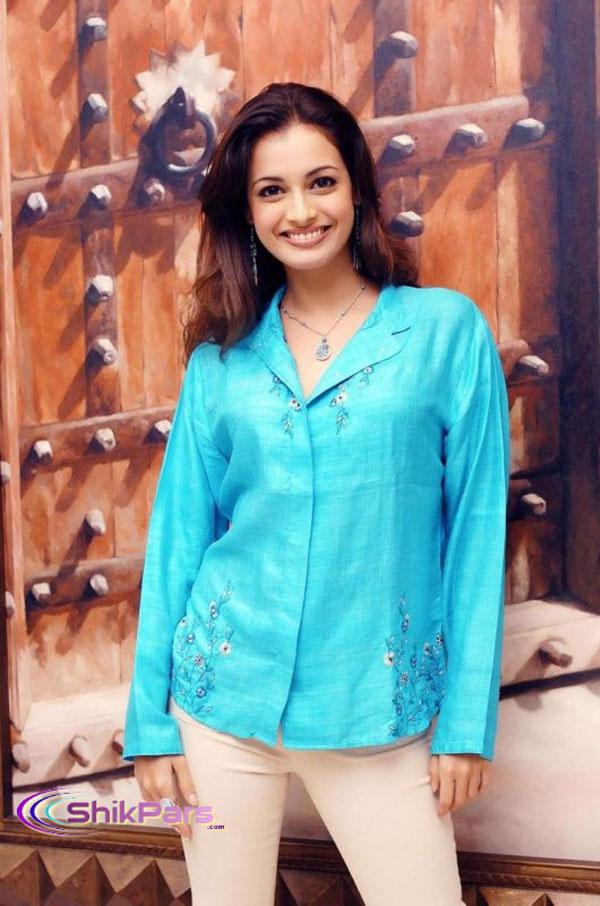 زیباترین عکس های دیا میرزا، هم بازی محمدرضا گلزار در سلام بمبئی