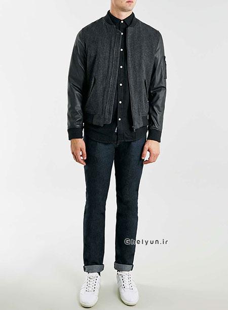 مدل کاپشن مردانه 95 , مدل لباس زمستانی مردانه , مدل لباس مردانه 95