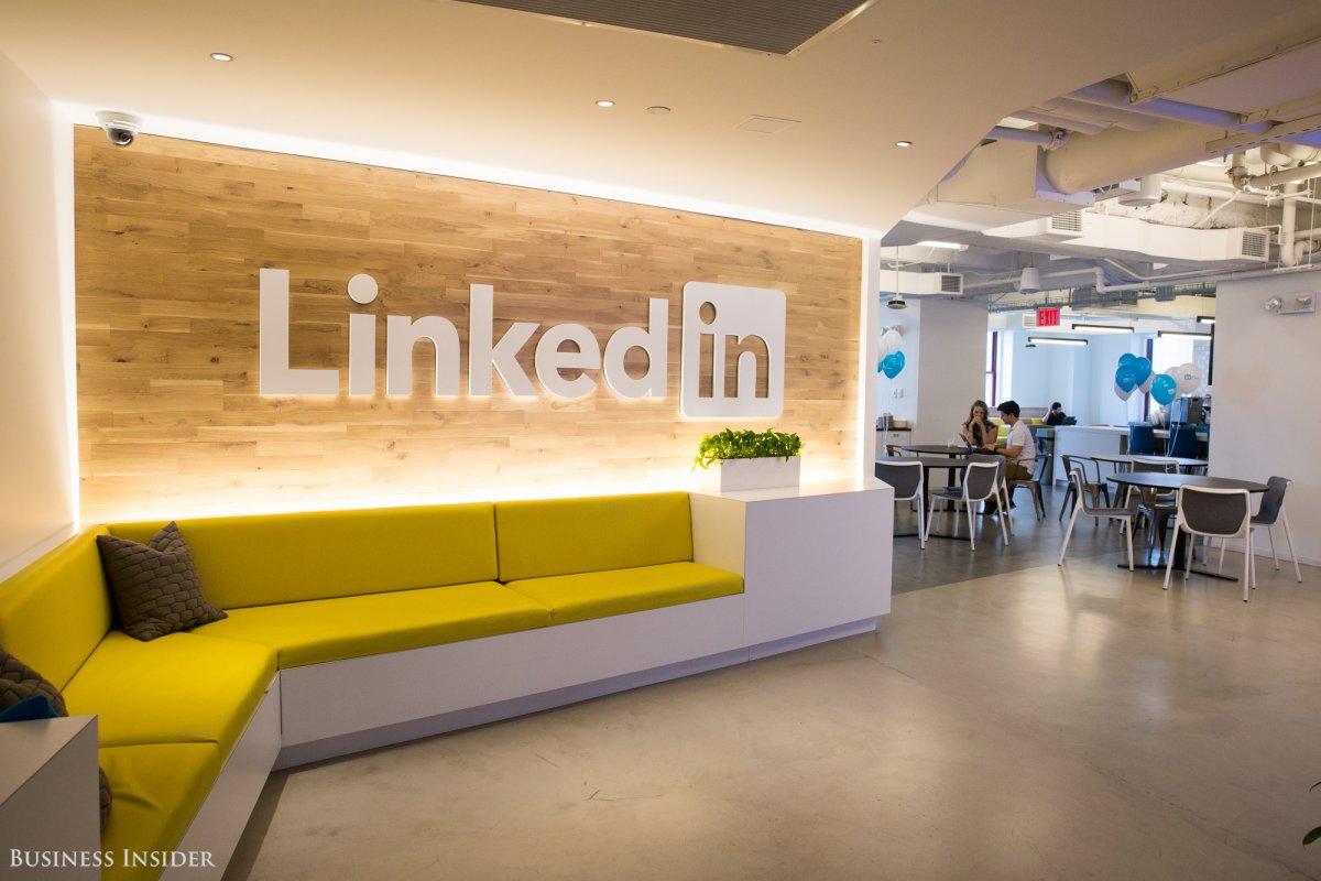 دفتر جدید کار شرکت لینکدین در نیویورک + تصاویر