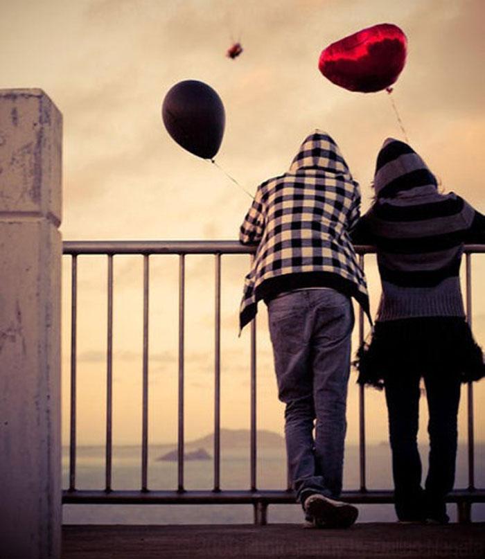 عکس های رمانتیک دو نفره