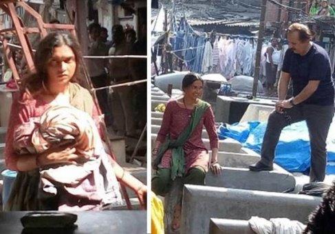 بازیگر مشهور هندی بدون آرایش جلوی دوربین مجید مجیدی بازی کرد