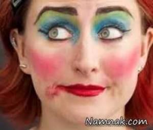 دختر هنرپیشه ای که به خاطر آرایش زیاد جانش را از دست داد + عکس