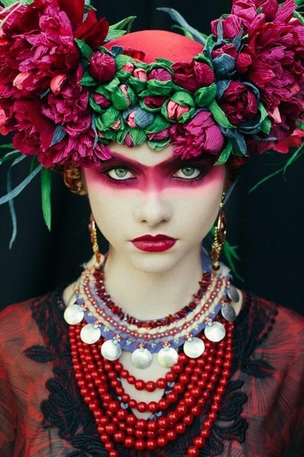 عجیب ترین آرایش ها و مدل موی سنتی در جهان + عکس