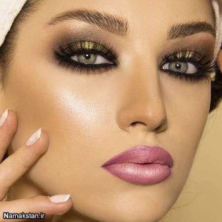 انواع مدل آرایش دخترانه جذاب 96-2017