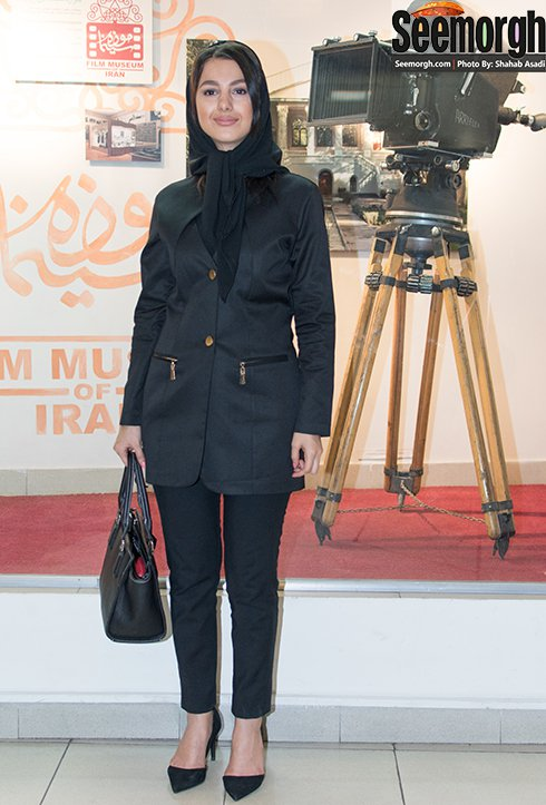 مدل مانتو جوانه دلشاد در اکران فیلم جاودانگی