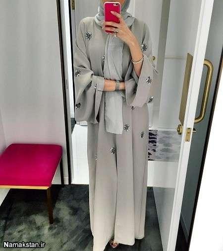 مدل مانتوی بلند زنانه 2017، شیک ترین مدل های مانتو بلند و اسلامی، مدل مانتوی مجلسی بلند زنانه