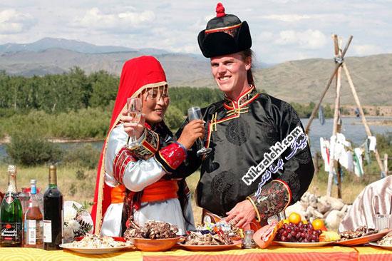 لباس عروس سنتی تووا