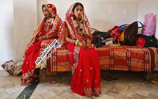 لباس عروس سنتی هند