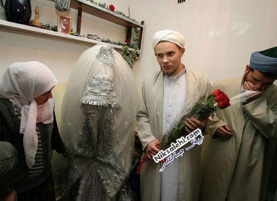 لباس عروس سنتی تاجیکستان