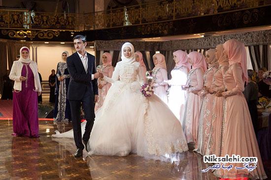 لباس عروس سنتی چچن