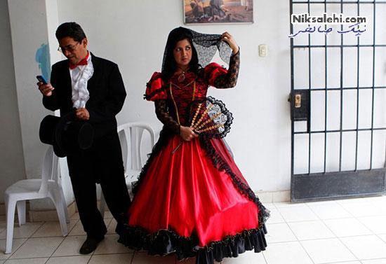 لباس عروس سنتی پرو