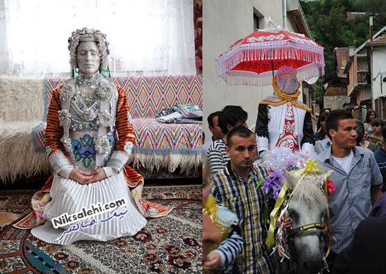 لباس عروس سنتی گورا