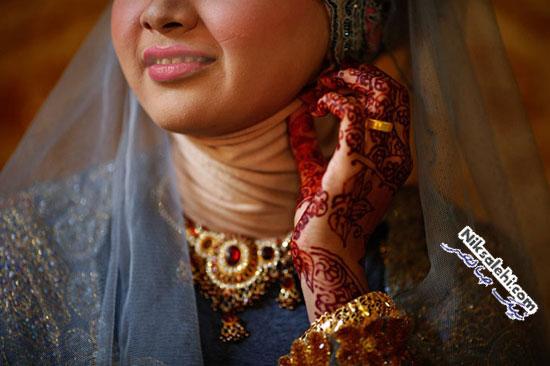 لباس عروس سنتی اندونزی