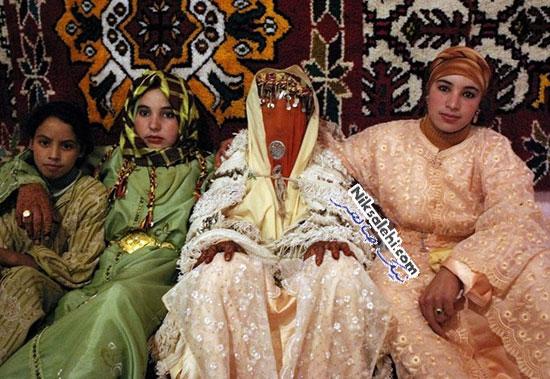 لباس عروس سنتی مراکش