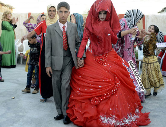لباس عروس سنتی عراق