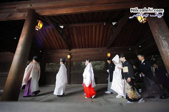 لباس عروس سنتی ژاپن