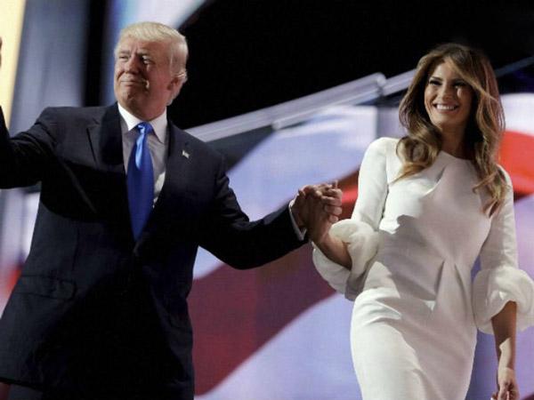 ملانیا ترامپ و دونالد ترامپ