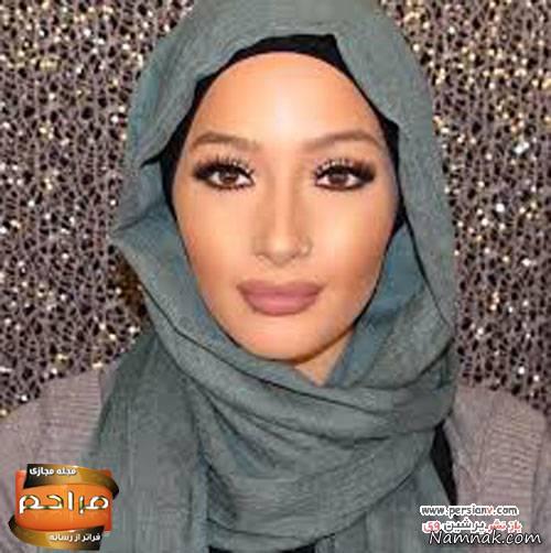 دختر زیبای مراکشی، اولین دختر محجبه مدلینگ برند آرایشی + عکس