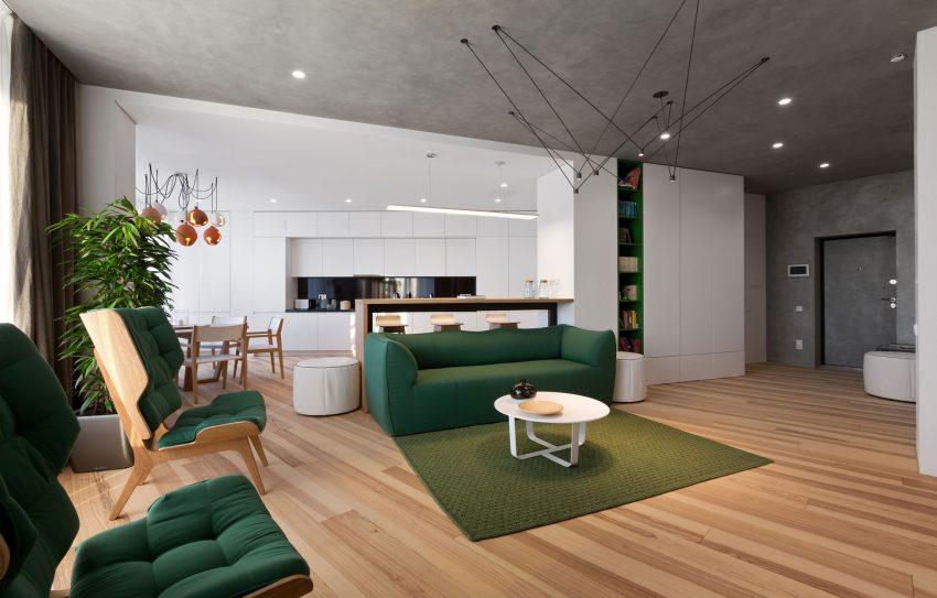 این آپارتمان خوشگل و دلنشین طراحی شده است