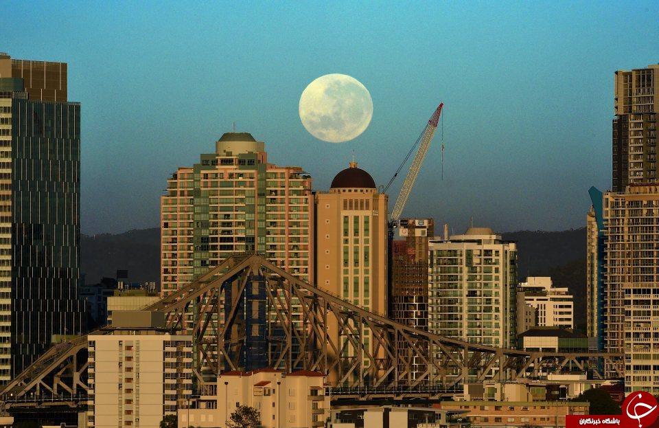 ابر ماه در استرالیا