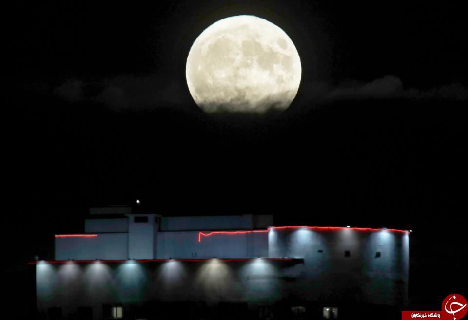 ابر ماه در بلاروس