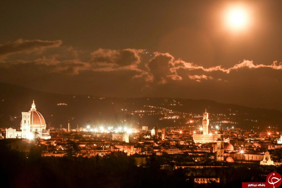 ابر ماه در دریای مدیترانه، قبرس