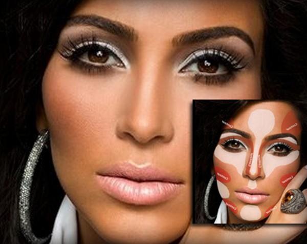 آموزش کوچک کردن بینی با آرایش