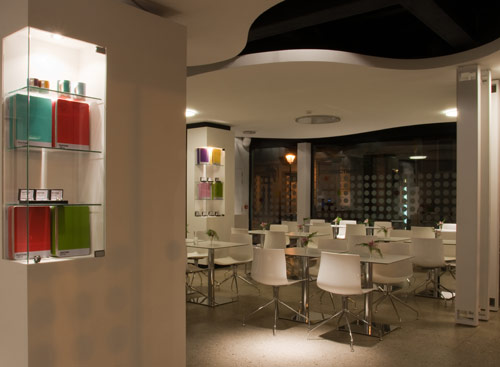 هتل پنتون در بلژیک با دکوراسیون پویا و شاد