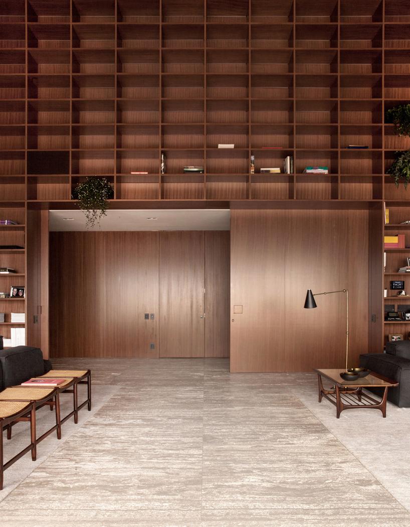 پنت هاوس لوکس و مجلل سه طبقه در برزیل + تصاویر