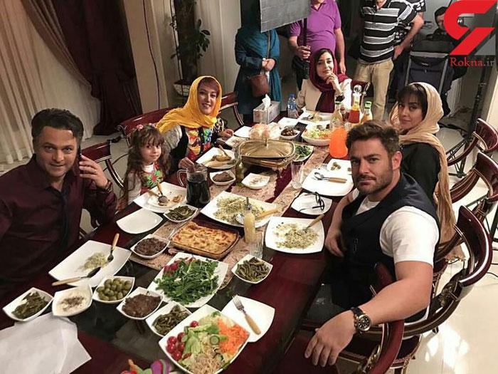 میز غذا به سبک سوپراستارهای ایرانی + عکس