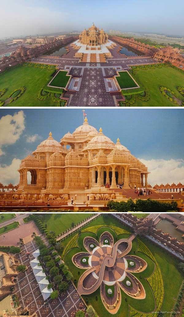 معبد آکشاردام، دهلی نو