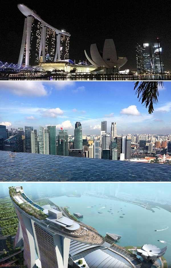 هتل مارینا بی سندز، سنگاپور