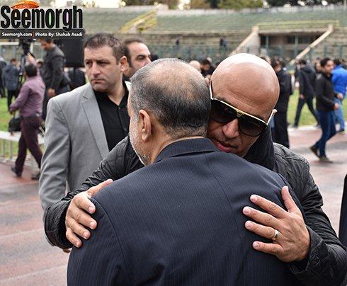 مراسم تشییع پیکر منصور پورحیدری + تصاویر