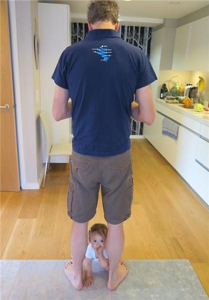 عکسی که بعنوان پدر بچهاش منتشر کرد