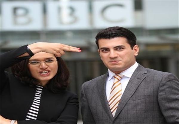 """همسر مجری BBC فارسی و مروج """"ازدواج سفید"""" در ایران"""