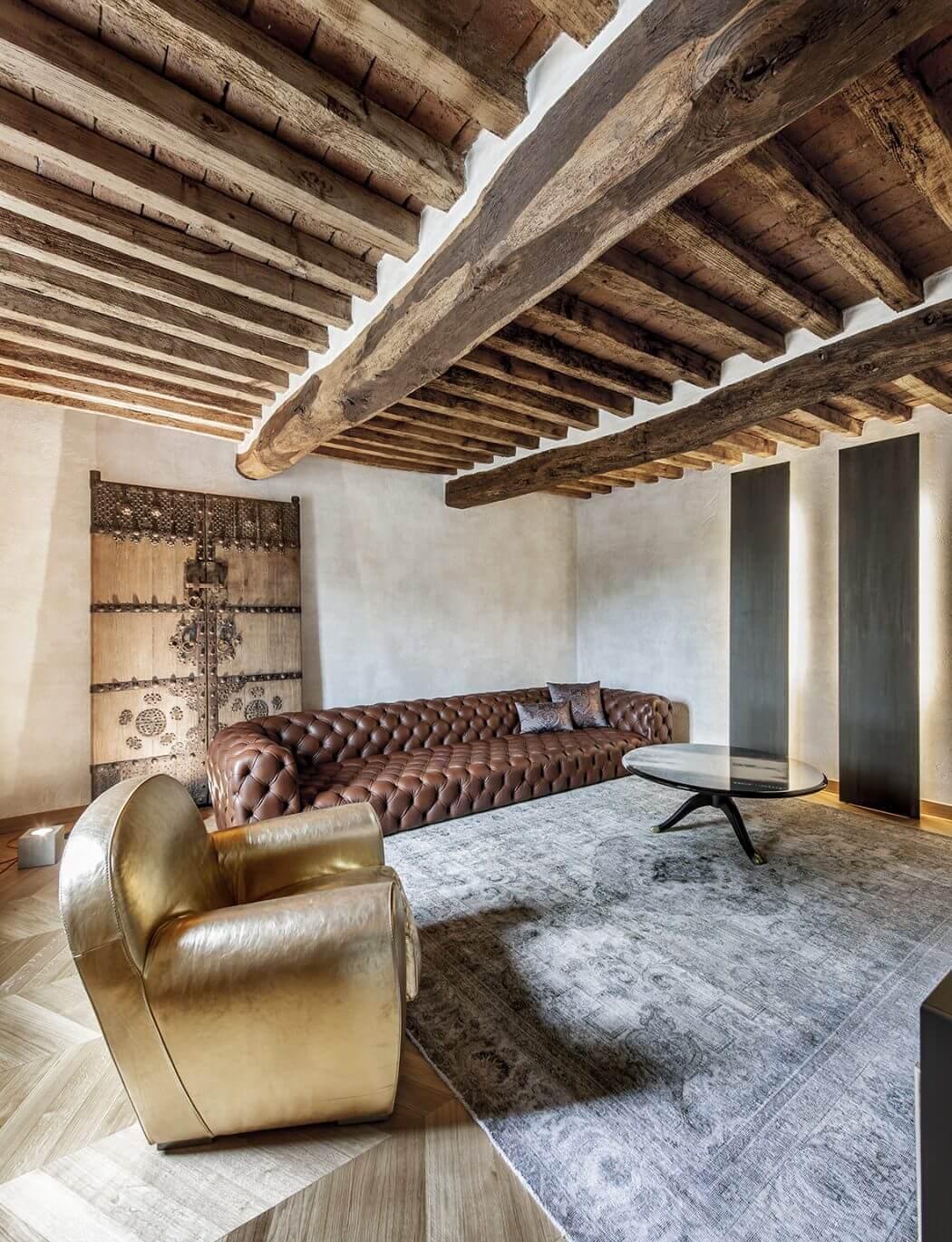 خانه روستایی با دکوراسیون شیک در ایتالیا
