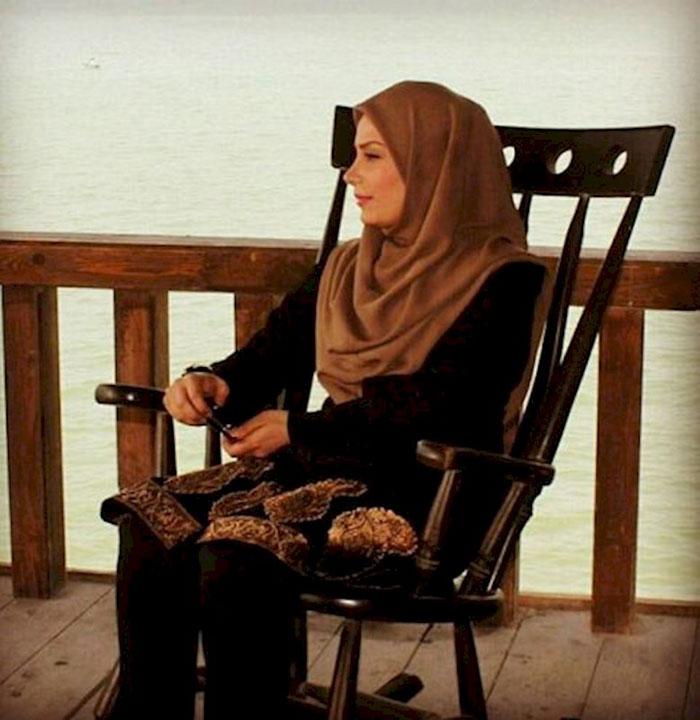عکس و دل نوشته خانم مجری مشهور بعد از طلاق