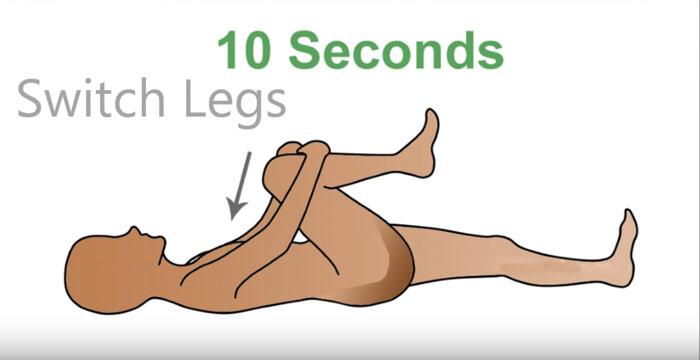 بهبود درد سیاتیک با تمرینات راحت و سریع