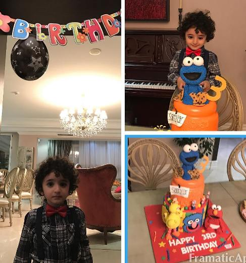 جشن تولد پسر شیلا خداداد