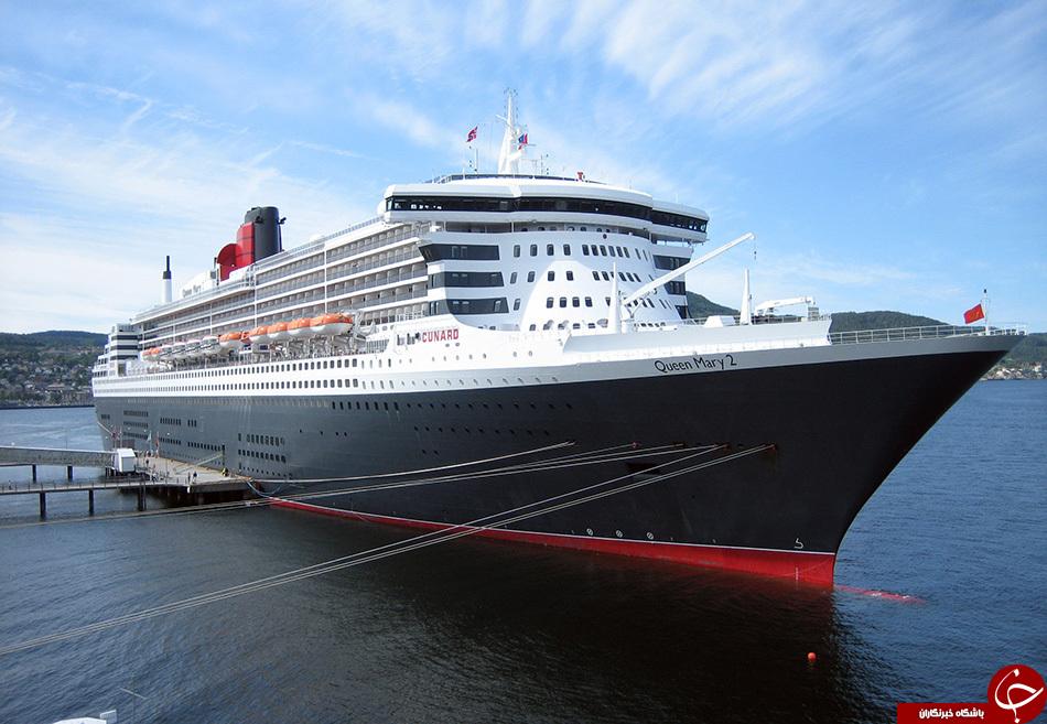 عکس های دیدنی از لوکس ترین و مجهزترین کشتی های دنیا