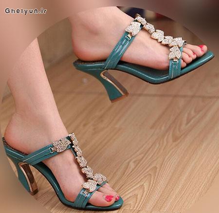 مدل کفش پاشنه بلند مجلسی، کفش پاشنه دار 2017، انواع مدل کفش مجلسی زنانه و دخترانه شیک جدید