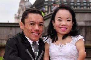 قدکوتاه ترین زن و شوهر دنیا در گینس + عکس