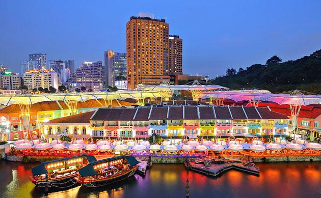 عکس های زیبا و شگفت آور از شهر زیبای سنگاپور