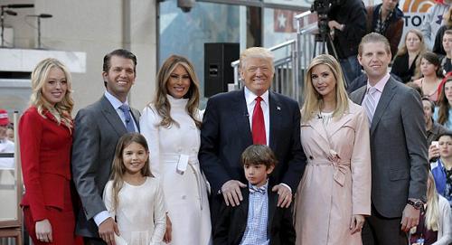 بیوگرافی کامل خانواده ترامپ + تصاویر