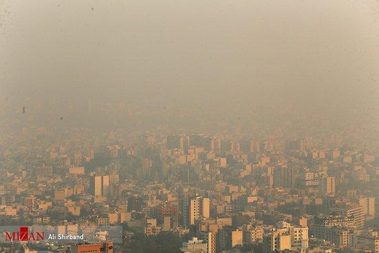 عکس هایی از آلودگی هوا در تهران