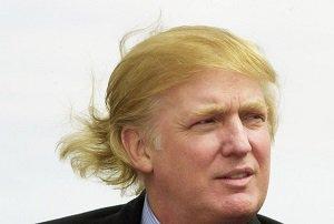 امضای عجیب و غریب ترامپ + عکس