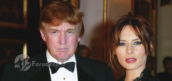 ملانیا ترامپ، همسر دونالد