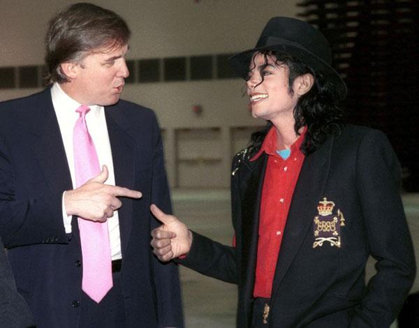 ترامپ و مایکل جکسون