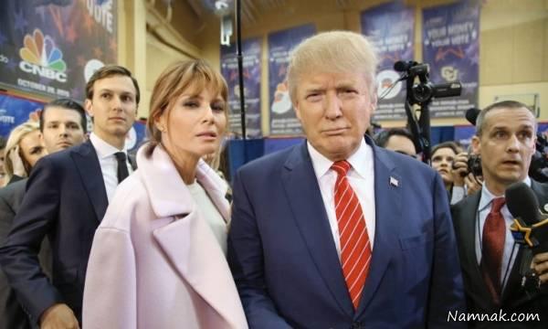 دونالد ترامپ و همسر سومش