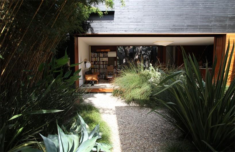 خانه زیبا با هماهنگی بین نمای بیرونی و دکوراسیون داخلی